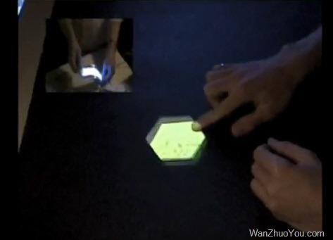 光学视频演示