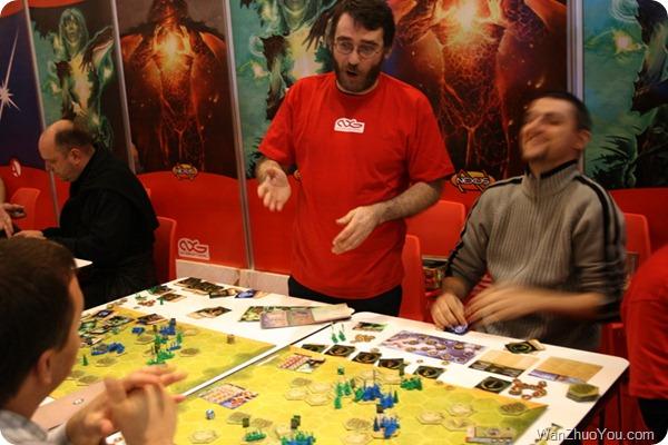 Piero Cioni and his Game Magestorm @ Essen 2010
