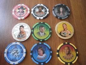 游戏币为本次桌游设计的主体