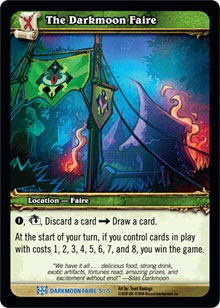 暗月马戏团也被设计成了魔兽卡牌